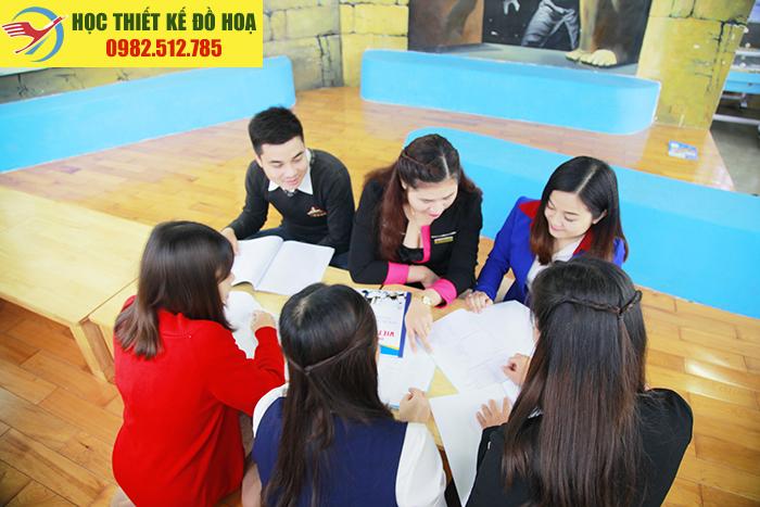 Khóa học đồ họa ngắn hạn tại Trung Liệt – ĐốngĐa