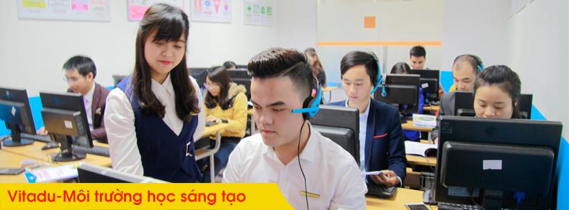 Môi trường học tập khóa học thiết kế đồ họa ngắn hạn tại Sóc Sơn